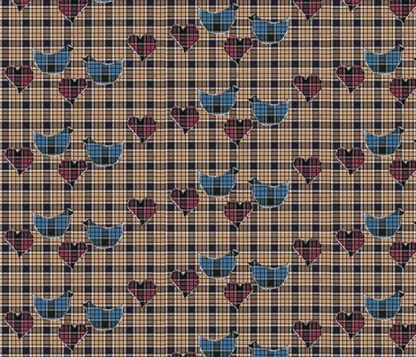 Rrblue_tartan_birds_on_beige_tartan_fabric_with_pink_tartan_hearts_quilt_shop_preview