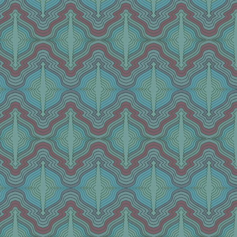 Blue_History fabric by david_kent_collections on Spoonflower - custom fabric