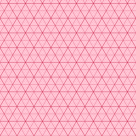 isometric triangle/hexagonal inch graph fabric by sef on Spoonflower - custom fabric