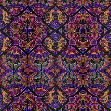 Midnight Mass fabric by edsel2084 on Spoonflower - custom fabric