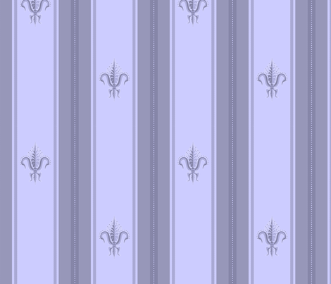 FDL French Blue fabric by glimmericks on Spoonflower - custom fabric
