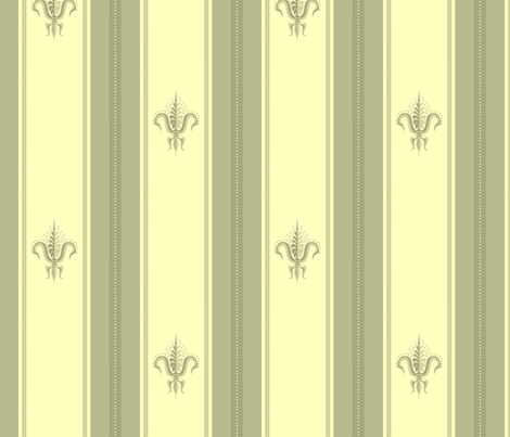 FDL Pineapple Sage Whip fabric by glimmericks on Spoonflower - custom fabric