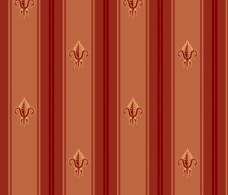 FDL Claret fabric by glimmericks on Spoonflower - custom fabric