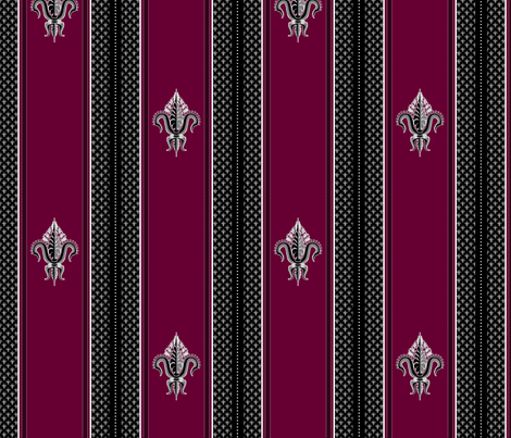 FDL Garnet fabric by glimmericks on Spoonflower - custom fabric