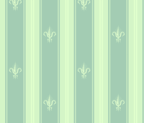 FDL Absinthe Frost fabric by glimmericks on Spoonflower - custom fabric