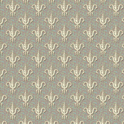 FDL Rich Damask fabric by glimmericks on Spoonflower - custom fabric