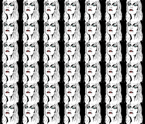 Evil Laura fabric by cherryandcinnamon on Spoonflower - custom fabric