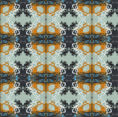 My oh my, said the spider to the fly...smaller version fabric by susaninparis on Spoonflower - custom fabric