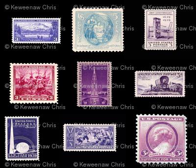 stamp fat quarter 5