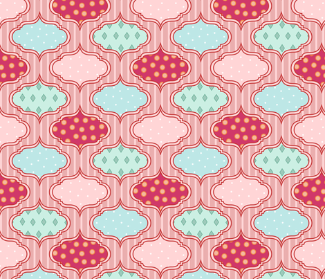 wallpaper fabric by mrshervi on Spoonflower - custom fabric