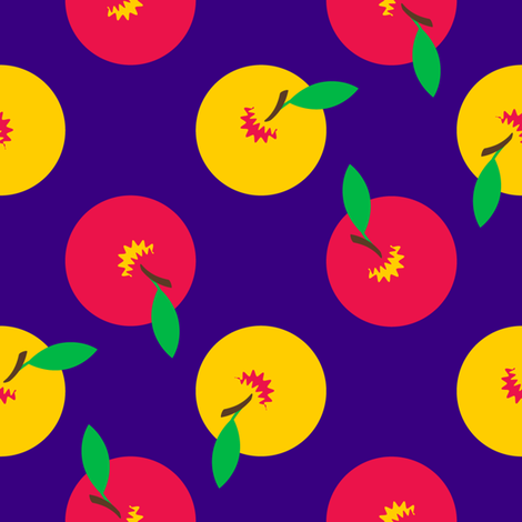 Whole Apples fabric by nekineko on Spoonflower - custom fabric