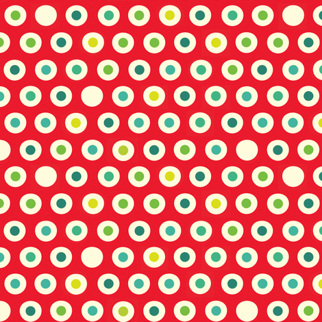 Spoon Polka fabric by spellstone on Spoonflower - custom fabric