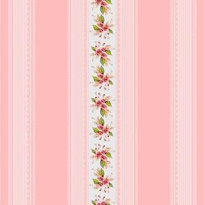 Parson's Pink Rose Delicate Stripe