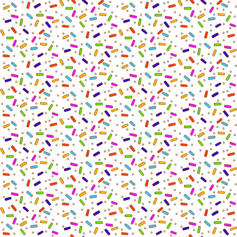 Sprinklespattern fabric by jenniferdenty on Spoonflower - custom fabric