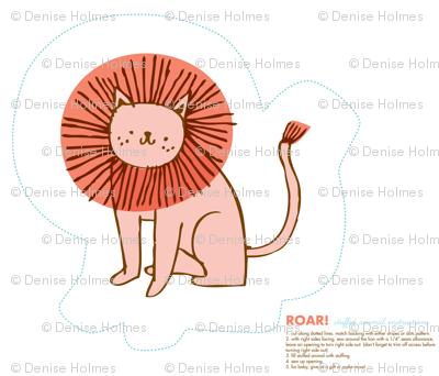 Roar! Stuffed Lion