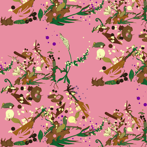 Biodiversity fabric by boris_thumbkin on Spoonflower - custom fabric
