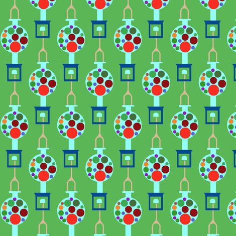 Gumball Machine Stripes fabric by boris_thumbkin on Spoonflower - custom fabric
