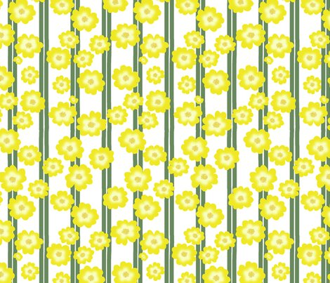 Rbuttercup_bush_double_stripe_scattered_flowers_repeat_white_shop_preview