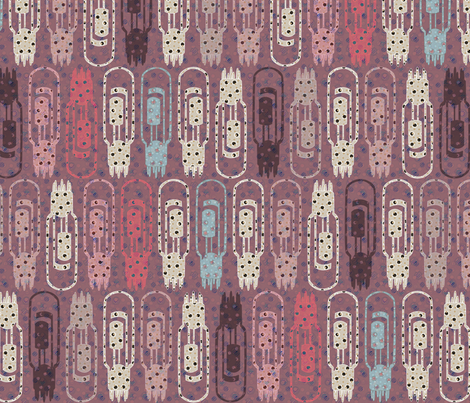 Vacuum Tube Retro fabric by glimmericks on Spoonflower - custom fabric