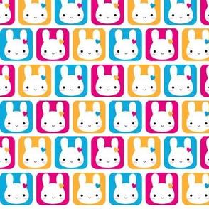 Kawaii Bunny Squares