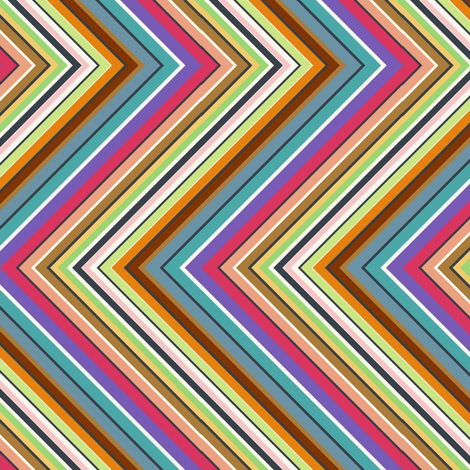 zigzag zigzag zigzag fabric by kato_kato on Spoonflower - custom fabric