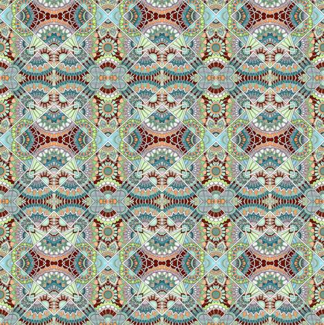 Tiny Kimono Diamonds fabric by edsel2084 on Spoonflower - custom fabric