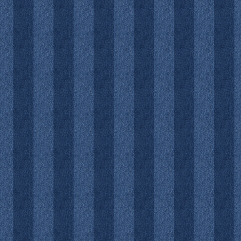 1/2 inch striped denim
