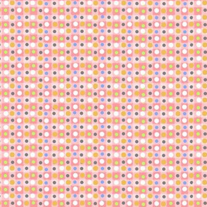 Pink Vintage Summer Dot