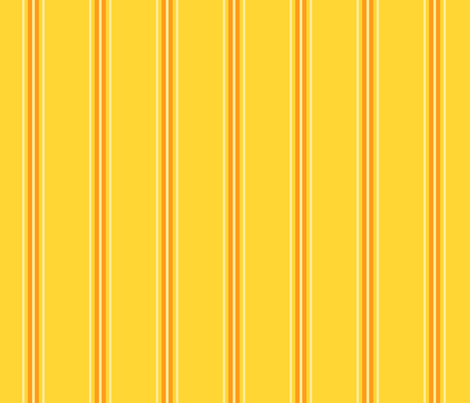 Mango orange stripe fabric by demouse on Spoonflower - custom fabric