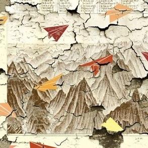 Peeling Pyrenees Planes
