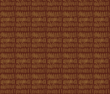 stone totem 1 fabric by smudged_textiles_studio on Spoonflower - custom fabric