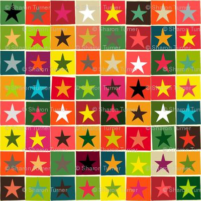 christmas boxed stars
