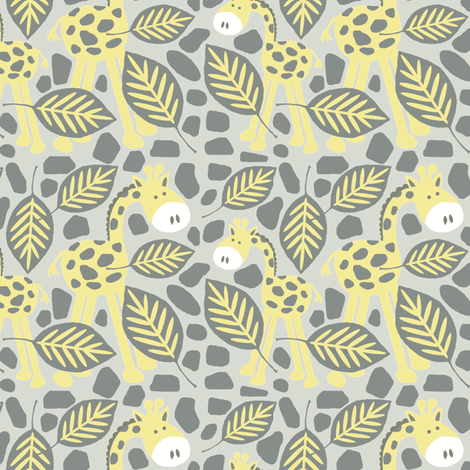 frolic in the leaves fabric by paragonstudios on Spoonflower - custom fabric