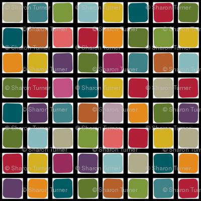 garden mosaic squares