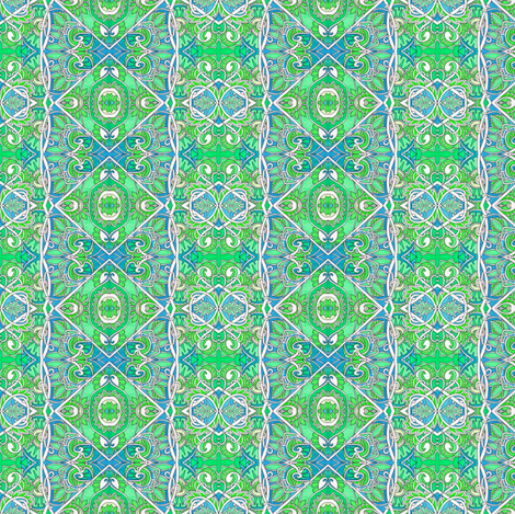Sipping Mint Julip fabric by edsel2084 on Spoonflower - custom fabric