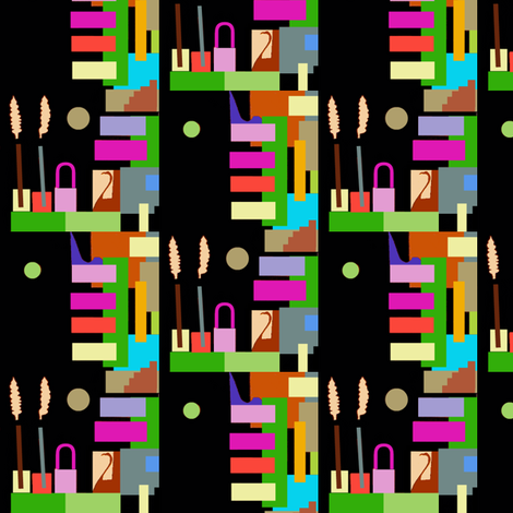 Rothbart's Factory-Technicolor Version fabric by boris_thumbkin on Spoonflower - custom fabric