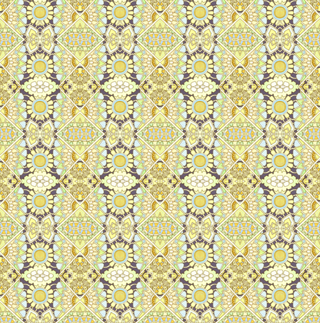 Sipping Lemonade (vertical stripe) fabric by edsel2084 on Spoonflower - custom fabric