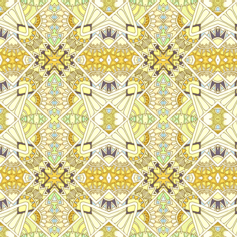 Badminton Game fueled by Lemonade fabric by edsel2084 on Spoonflower - custom fabric
