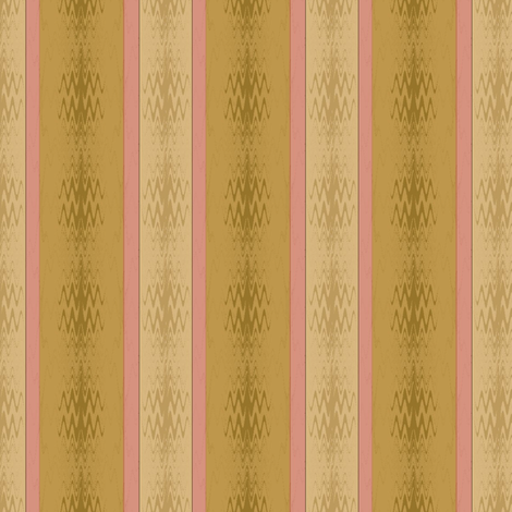 Ikat (Golden Green) fabric by david_kent_collections on Spoonflower - custom fabric