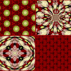Roses Coordinating patterns