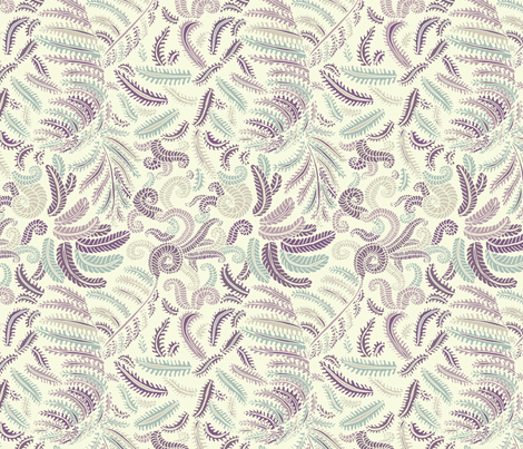 Ferns  fabric by teja_jamilla on Spoonflower - custom fabric