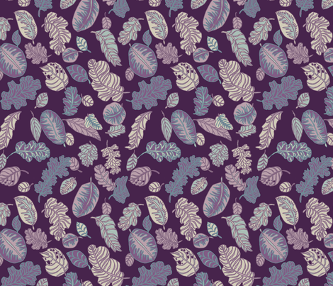 Foliage fabric by teja_jamilla on Spoonflower - custom fabric