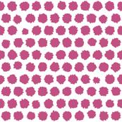 pom pom small spot pink