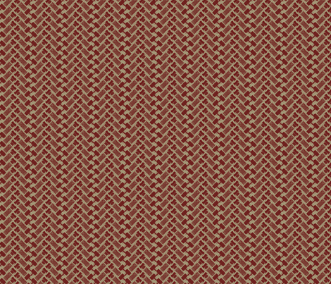 Brown Vacuum Tube Herringbone fabric by exfish on Spoonflower - custom fabric