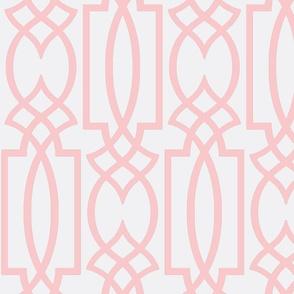 Ruby's Pink Trellis