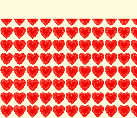 Valentine Pillows fabric by heidikenney on Spoonflower - custom fabric