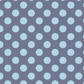 Blue Grey dots