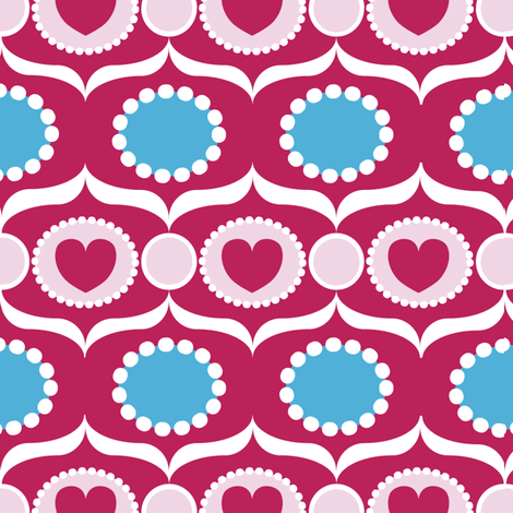 sugar fabric by lilliblomma on Spoonflower - custom fabric