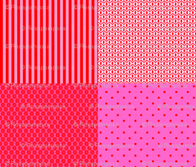 Harmony red and pink