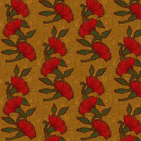 Red Carnation / 7 fabric by paragonstudios on Spoonflower - custom fabric